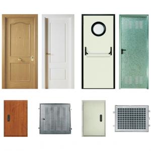 Soluciones de acceso:Puertas peatonales