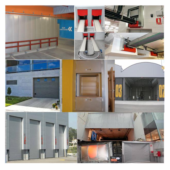 Puertas garaje, industriales